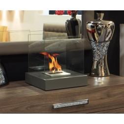 TABLE BIOETHANOL FIREPLACE  30X30X31cm GREY