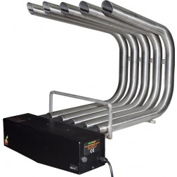 FIREPLACE HEATER BLOWER ST. STEEL , BIG SIZE