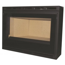CLOSED INSERT FIREPLACE GLASS 70cm